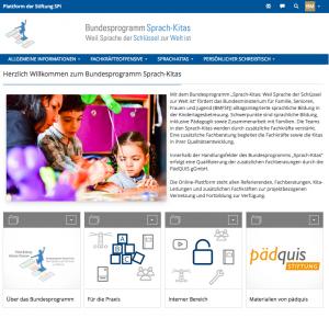 Bundesprogramm Sprach-Kitas